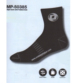 ONDA HIGH SOCK WITH PADDED SOLE MP-50385