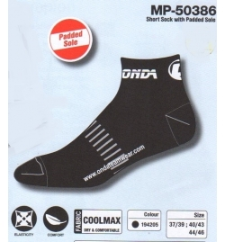 ONDA SHORTE SOCK WITH PADDED SOLE MP-50386
